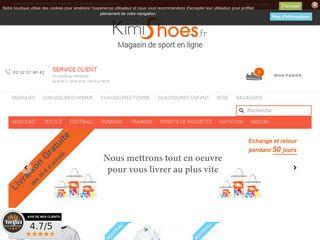 Coup de projecteur sur la boutique en ligne de chaussures de sport Kimishoes