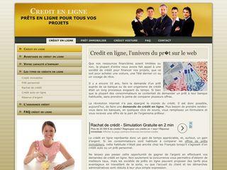 Un credit en ligne pour une nouvelle vie