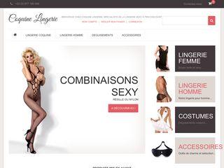 Magasin de lingerie en ligne