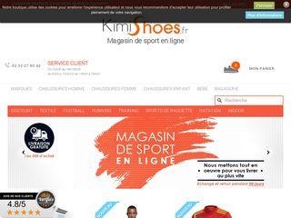 Kimishoes Coup de projecteur sur la boutique en ligne de chaussures de sport