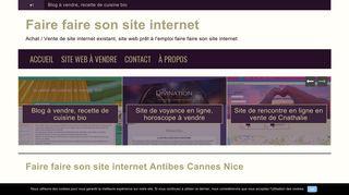 Faire faire son site internet un développeur web pour un projet pro