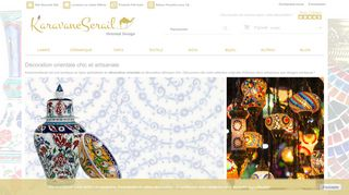 Lampe turque mosaïque et Vaisselle orientale