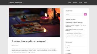 Le tarot divinatoire, un jeu ouvrant nos horizons